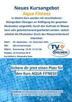 Weiter lesen   Neuer Aqua Fitness Kurs