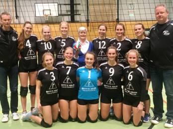 Volleyball (D1): Sowohl Zitter- als auch Kantersieg bringen Punkte